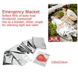 SLB Works 77 in 1 Outdoor First Aid Emergency Survival Kit Trauma Medical