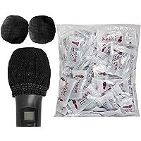 200 fundas desechables para micrófono de tela no tejida, protección contra el polvo