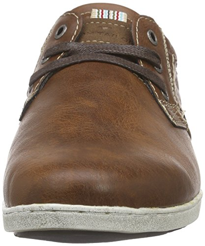 Tom Tailor Tom Tailor Herrenschuhe, Bottes homme Marron - Marron (Cognac)