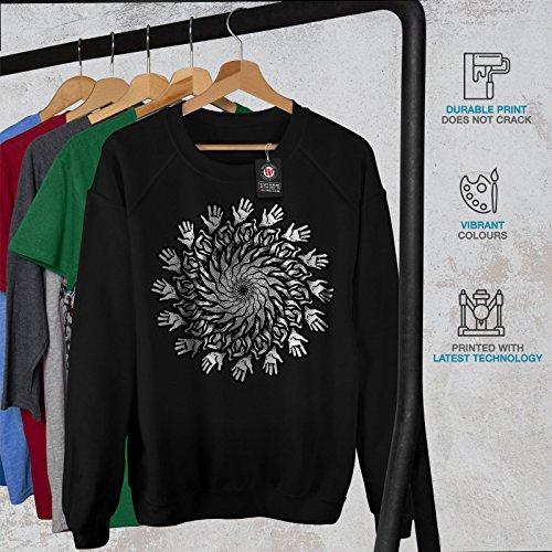 Conduite Moi Des noisettes Drôle Femme S-2XL Sweat-shirt | Wellcoda Noir