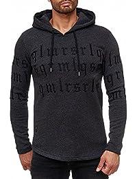 Red Bridge Herren Hoodie | Gothic Codes | Kapuzenpulli | Langarm Shirt | Pullover | Sweatshirt | Hoody | Redbridge RBC By Cipo & Baxx