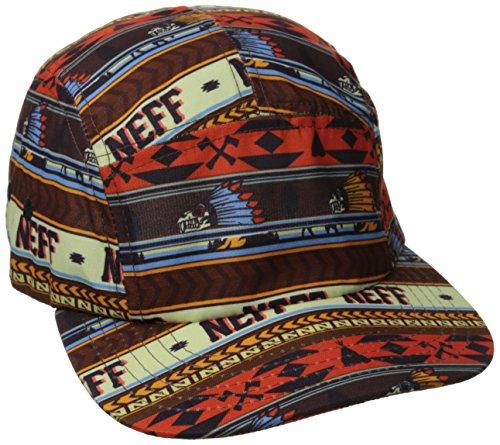 Neff Cap 'Crazy Camper' (14F00016) Farbe: Orange, Größe:ONESIZE (New Era Hats Schnee)