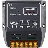 EchoAcc® CMP12 10A 12V / 24V del Regulador del Panel Solar Protección Seguridad Cargo