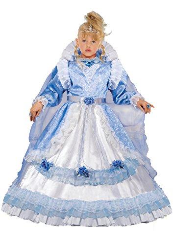 Fiori paolo 57156 - regina del castello costume bambina (5-7 anni)
