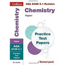AQA GCSE Chemistry Higher Practice Test Papers (Collins GCSE 9-1 Revision)