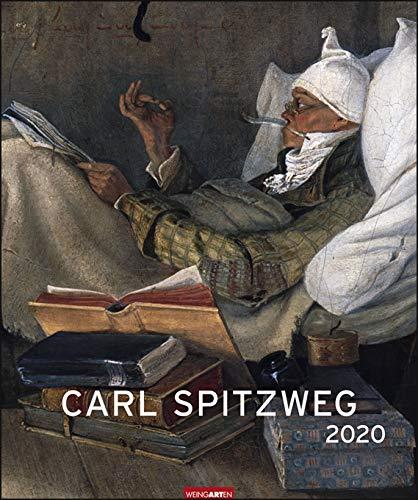 Carl Spitzweg - Editions-Kalender 2020 - Weingarten-Verlag - Kunstkalender - Wandkalender - 46 cm x...
