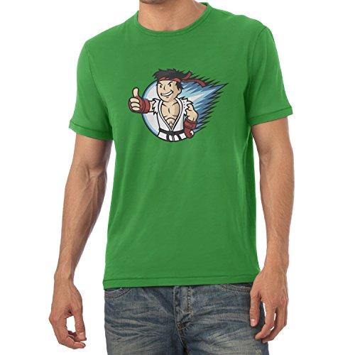 TEXLAB - Ryu Boy - Herren T-Shirt Grün