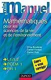 Image de Mini manuel de Mathématiques pour les sciences de la vie et de l'envi