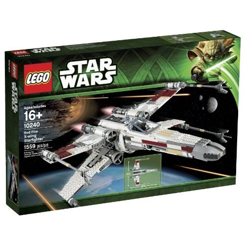LEGO STAR WARS X Wing Starfighter TM Red 10240