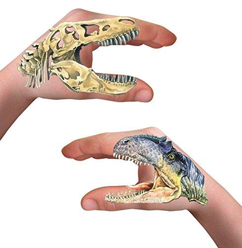 Tatuajes Para Manos de Dinosaurios