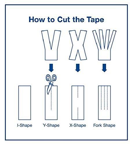 FITOP 4 Rollen Baumwoll Kinesiologie Tapes 5 m x 5 cm, verschiedene Farben - 4