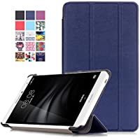 HUAWEI MediaPad T2 7.0 Pro Cover - Custodia Ultra Sottile e Leggero con Coperture da Supporto e Funzione Auto Sveglia / Sonno per Huawei MediaPad T2 7.0 Pro Tablet, Indaco