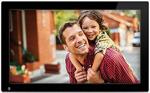 NIX 18.5 inch Hi-Res Digital Photo Frame, with Motion Sensor, 4GB USB Memory, Photo, Video & Music -