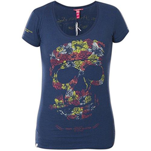 Yakuza Premium Damen T-Shirt GS-2145 Blau Blau