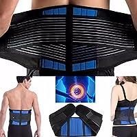 CSL Deluxe Neopren Doppelgurte Rückenstütze Lordosenstütze Taille Brace Relief für Ischias für Männer und Frauen... preisvergleich bei billige-tabletten.eu