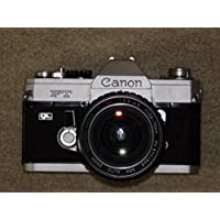 FOTOTECHNIK by LLL Cámara Réflex Canon Ft QL–SLR Camera Incl. Lente–makinon Serie S MC Auto Zoom 1: 3.5–4.5F = 28–70mm de Diámetro 58# Técnica–Ok–by LLL #