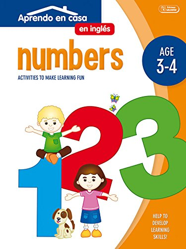 APRENDO EN CASA INGLÉS (3-4 AÑOS): Aprendo En Casa Inglés. Números. 3-4 Años por PATIMPATAM