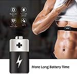 DINOKA-Sensore-di-Frequenza-Cardiaca-Bluetooth-40-Ant-Fascia-Toracica-CardiofrequenzimetroMonitor-della-Frequenza-Cardiaca-Monitor-del-Torace-per-SmartwatchAndroid-e-iOS-per-App