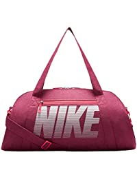 Nike Women s Pink Polyester Gym Club Training Duffel Bag (Ba5490-633) b67ed7e244