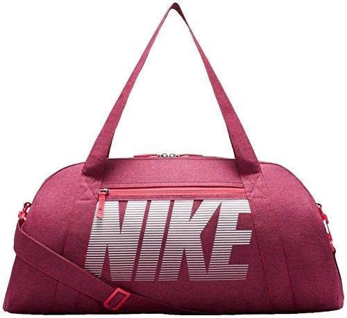 Nike Damen Gym Club Training Sporttasche, Rush Pink/White, 56 x 23 x 30.5 cm