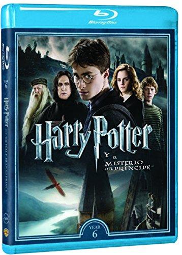 Harry Potter Y El Misterio Del Príncipe - Nueva Carátula [Blu-ray]