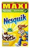NESTLÉ NESQUIK KNUSPER-FRÜHSTÜCK, Schoko Cerealien mit Vollkorn, 5er pack (5 x 625 g)