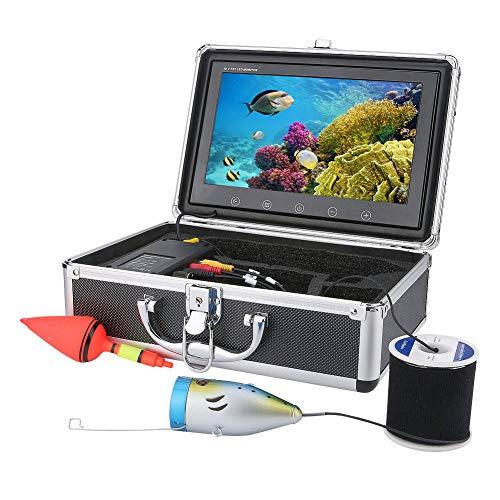 YANKAN 50 Meter 9 Zoll Intelligente Sportunterwasserkamera Hd 720P Visuelles Unterwasser-FischereigeräT-ÜBerwachungssystem Mit App-Videokamera-Funkfernbedienung