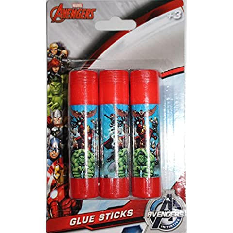 Marvel Avengers 3x colla stick in
