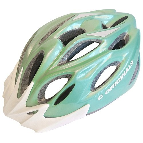 8X COLORES   C ORIGINALS S380 CASCO BICICLETA   VERDE