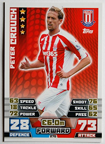 MATCH ATTAX 2014/2015 P> STOKE CITY, furgone di pronto intervento CROUCH> numero 270
