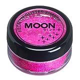Moon Glow - Neon UV Glitzer Mixer 5g Magenta – ein spektakulär glühender Effekt bei UV- und Schwarzlicht!