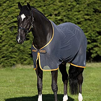 Amigo Net Cooler - Navy/Silver CLEARANCE PRICE Amigo Net Cooler – Horse Equestrian Outdoor Moisture Wicking Classic Breathable 51vTIyn7DAL