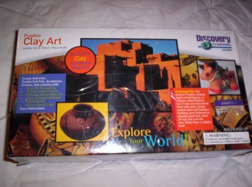 discovery-channel-pueblo-clay-art-activity-kit-and-pottery-wheel-refill-by-discovery-channel