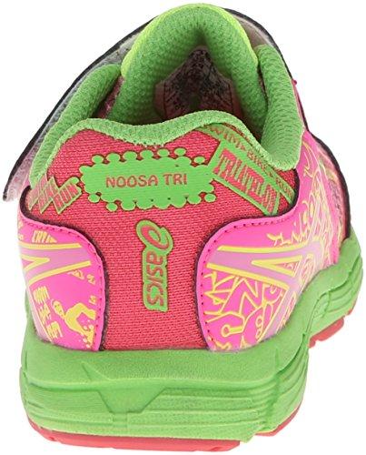 Asics Noosa Tri 9 TS Synthétique Chaussure de Course Petal Pink-Hot Pink-Apple Green
