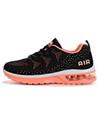 huge discount a7f3e 2fc83 Fexkean Hommes Femme Basket Mode Chaussures de Sports Course Sneakers  Fitness Gym athlétique Multisports Outdoor Casual
