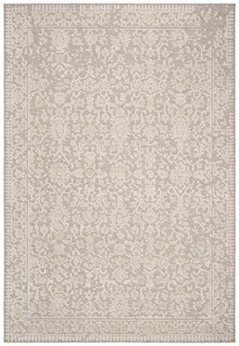 Safavieh Wohnzimmer Teppich, LNA603, Gewebter Wolle und Viskose, Beige, 160 x 230 cm - Viskose-teppich