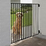 Wangado Divisorio Regolabile per Cani di Taglia Media o Grande, con Porta di Passaggio per Il Padrone e 2 Chiusure di Sicurezza da Esterno Outdoor