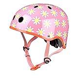 Micro Sicherheit Helm Daisy für Jungen und Mädchen Fahrrad Roller Bike, Rose