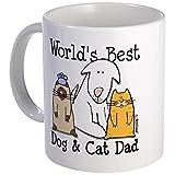 CafePress World's Best Dog and Cat Dad Mug - Best Reviews Guide