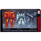 Sentinel Prime, Charon, Windblade SDCC 2016 Exclusive - Titan Force 3-Pack - Titans Return - Transformers Generations