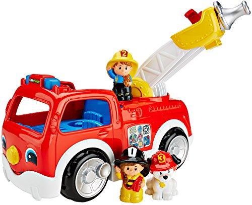 People-spielzeug-bus Little (Mattel Fisher-Price DNR42 - Little People Feuerwehrauto)