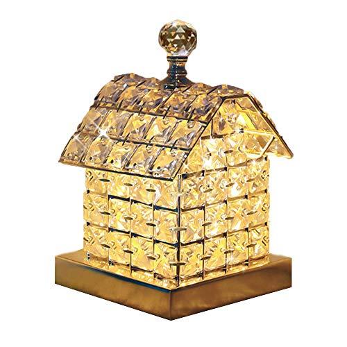 ZSY Dekoration Lichter, Fernbedienung Kristall Haus Lampe Dekoration Hauptdekorationen, kreativ und praktisch, um Mädchen Freundinnen Hochzeit, Schlafzimmer, Wohnzimmer -