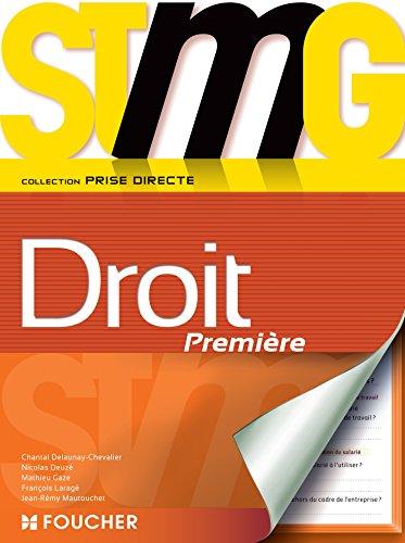 Prise directe Droit 1re Bac STMG
