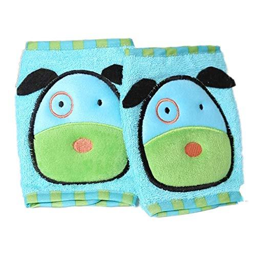 Baiansy Baby Krabbelknieschützer für Kinder, verstellbar, niedlich, atmungsaktiv, Ellbogenschoner C -