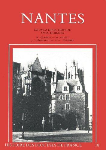 Lire Histoire des diocèses de France - Nantes pdf, epub ebook