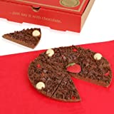Strawberry and Champagne Chocolate Pizza - 7 Inch Home Office Gadgets