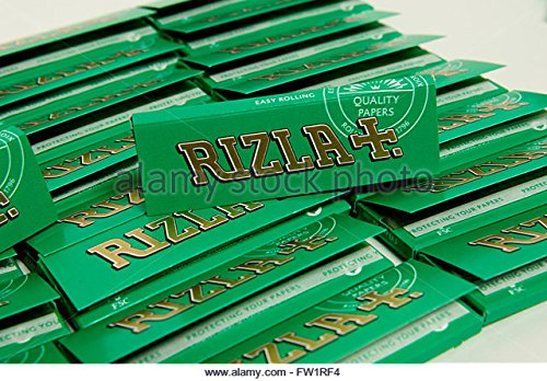 Rizla 15 Packs Green Small Standard Regular Rolling Papers Bargain