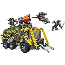 Mega Bloks - Furgoneta de Combate Luces y Sonidos, Tortugas Ninja, Juego de construcción