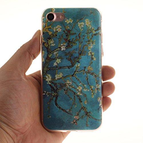 TPU Silikon Schutzhülle Handyhülle Painted pc case cover hülle Handy-Fall-Haut Shell Abdeckungen für Smartphone Apple iPhone 7 (4.7 Zoll) +Staubstecker (5AC) 13