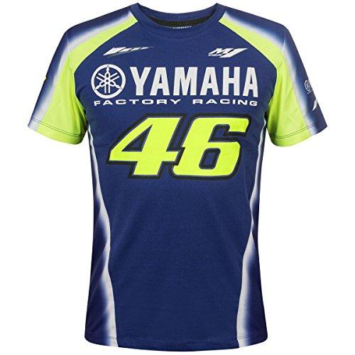 714ebbd2144 Valentino Rossi VR46 Moto GP M1 Yamaha Factory Racing Team T-shirt Official  2018